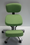BetterPosture® BetterPosture® Jazzy Deluxe Kneeling Chair - Lime [BP1446LI-FS-JB]