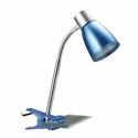LimeLights Flashy Flexible Gooseneck LED Clip Light - Metallic Blue