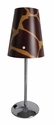 Limelights Mini Silver Table Lamp with Giraffe Shade