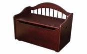 Limited Edition Childs Toy Box with Bench Seat and Flip-Top Lid - Cherry