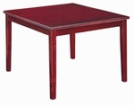 Lincoln 24'' Square Table with Tapered Legs [LI2424-29-O-FS-CMF]