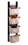 Linea Canvas Magazine Rack [92444-FS-WWT]