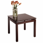 Linea Espresso End Table [92723-FS-WWT]