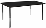 Lobo Table AE Chemsurf with Adjustable Height Legs - 24''W x 48''D [LOB7069-C-ADJ-NSL]