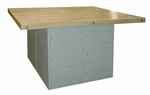 Locker Type Workbench [L4A-0V-HNN]
