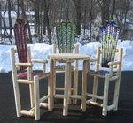 Log Bistro Set [ISK-BISTRO3-FS-ISK]