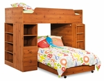Logik Collection Loft Bed Sunny Pine [3342A4-FS-SS]