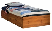 Logik Collection Twin Mates Bed (39'') Sunny Pine