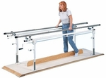 Long Crank Height Platform Bars - 16.5 - 24.5''W X 180''L X 26 - 39''H [HAU-1366-FS-HAUS]