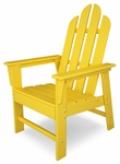 POLYWOOD® Long Island Dining Chair - Vibrant Lemon [ECD16LE-FS-PD]