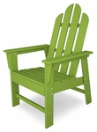 POLYWOOD® Long Island Dining Chair - Vibrant Lime [ECD16LI-FS-PD]