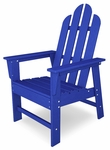 POLYWOOD® Long Island Dining Chair - Vibrant Pacific Blue [ECD16PB-FS-PD]