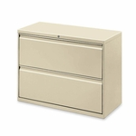 Lorell 2 Drawer 42''W Lateral File [LLR60438-FS-SP]