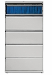 Lorell 5 Drawer 42''W Lateral File [LLR60433-FS-SP]