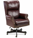 Lorell Berkeley Series Executive High Back Chair [LLR60602-FS-SP]