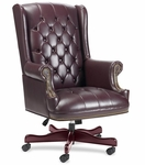 Lorell Berkeley Series Executive High Back Tufted Chair [LLR60603-FS-SP]
