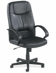 Lorell Chadwick Series Leather Executive High Back Chair [LLR60120-FS-SP]