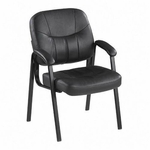 Lorell Chadwick Series Leather Guest Chair [LLR60122-FS-SP]