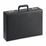 Lorell Expandable Attach Case - 4''W - 5''W - Black [LLR61614-FS-SP]