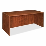 Lorell Laminated Desk - 60''W x 30''L x 29 -1/2''H - Cherry [LLR69409-FS-SP]