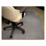 Lorell Medium Pile Antistatic Wide Chairmat with Lip - 53''L X 45''W [LLR25751-FS-SP]