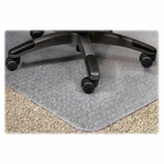 Lorell Medium Plush Pile Wide Lip Chairmat [LLR25756-FS-SP]
