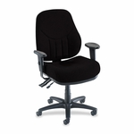 Lorell Multi -Task Chair - High -Back - 26 -7/8''W x 28''L x 39'' - 44''H - Black [LLR81103-FS-SP]