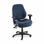 Lorell Multi -Task Chair - High -Back - 26 -7/8''W x 28''L x 44''H - Blue [LLR81101-FS-SP]