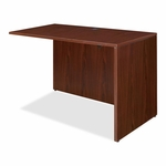 Lorell Return Shell - 48''W x 24''L x 29 -1/2''H - Mahogany [LLR69387-FS-SP]