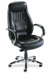 Lorell Ridgemoor Leather Executive High Back Chair [LLR60501-FS-SP]