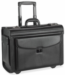 Lorell Rolling Laptop Catalog Case - 16''W - Black [LLR61612-FS-SP]