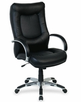 Lorell Stonebridge Leather Executive High Back Chair [LLR60505-FS-SP]