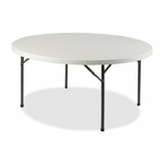 Lorell Table - Banquet - 500lb Capacity - 71''W x 71''L x 29 -1/4''H - Platinum [LLR60325-FS-SP]