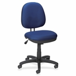 Lorell Task Chair - Tilt/Tension - 24''W x 14''L x 25''H - Blue [LLR84865-FS-SP]