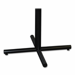 Lorell Training Tablebase - 42''W x 42''W x 27 -1/2''H - Black [LLR61697-FS-SP]