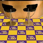 Louisiana State University Carpet Team Tiles - 18'' x 18'' Tiles - Set of 20 [8515-FS-FAN]