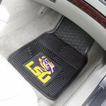 Louisiana State University Vinyl Car Mat 2 Pc 18'' x 27'' [8747-FS-FAN]