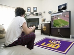 Louisiana State University Rug 4' x 6' [6290-FS-FAN]