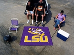 Louisiana State University Tailgater Rug 60'' x 72'' [3946-FS-FAN]