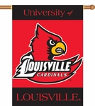 Louisville Cardinals 2-Sided 28'' X 40'' Banner with Pole Sleeve [96032-FS-BSI]