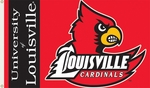 Louisville Cardinals 3' X 5' Flag with Grommets [95032-FS-BSI]