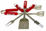 Louisville Cardinals 4 Pc Bbq Set [61032-FS-BSI]