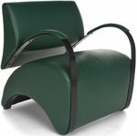 Recoil Lounge Chair - Dark Green [841-PU010-FS-MFO]