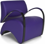 Recoil Lounge Chair - Purple [841-PU008-FS-MFO]
