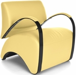 Recoil Lounge Chair - Yellow [841-PU009-FS-MFO]