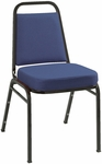 800 Series Stacking Armless Hospitality Chair with Trapezoid Back and 2'' Upholstered Seat [IM820-IFK]