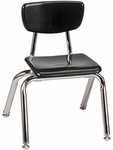 3000 Series Hard Plastic Stack Chair with 12''H Seat [3012-VCO]