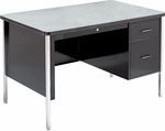 540 Series Traditional Single Pedestal Teachers Desk [543-VCO]