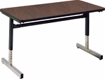 8700 Series Computer Laminate Table - 24''W x 36''D x 22''H - 30''H [872436-VCO]