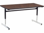 8700 Series 30''W x 60''L Computer Table [873060-VCO]